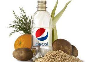 PepsiCo представила экологически чистую бутылку на основе растительных материалов