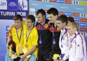 Украинцы завоевали четыре медали на ЧМ по прыжкам в воду