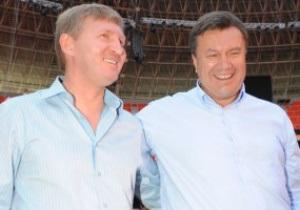 Янукович поздравил Шахтер с победой