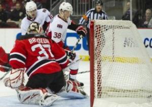 NHL: Оттава прервала победную серию Дьяволов