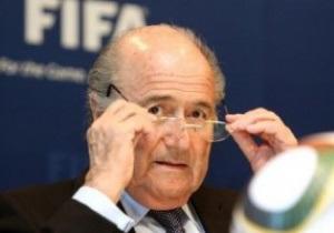 Англичане будут поддерживать оппонента Блаттера на выборах президента FIFA