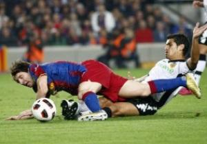 Барселона сломила сопротивление Валенсии
