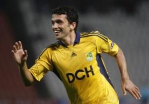 Бразильский футболист Металлиста: Уже учу гимн Украины