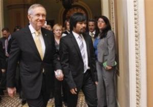Пакьяо встретился с Бараком Обамой
