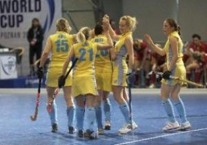 Индорхоккей: Украинки вышли в полуфинал Чемпионата Мира
