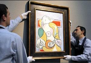 Картина Пікассо продана за 40 млн доларів