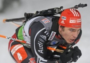 Биатлон: Пайффер выиграл спринтерскую гонку, Седнев - десятый