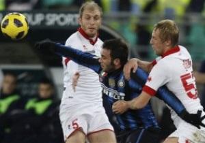 Интер доводит матч с Бари до разгрома