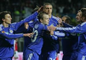 Динамо определилось с составом на плей-офф Лиги Европы