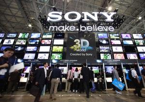 Прибыль Sony снизилась из-за слабых продаж телевизоров