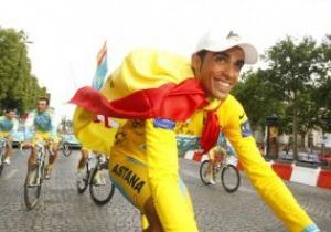 Контадор дисквалифицирован на один год