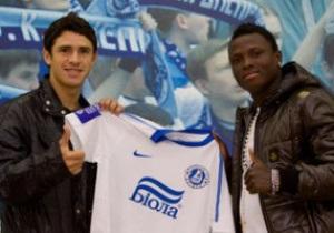 Новички Днепра подписали контракты с клубом