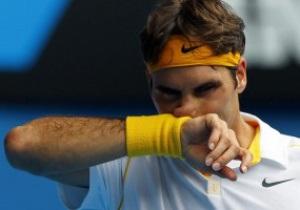 АО-2011: Федерер стал первым полуфиналистом