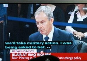 Тоні Блер   жалкує   за загиблими в Іраку