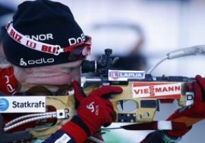 Биатлон: Бергер побеждает в спринте, три украинки - в двадцатке лучших