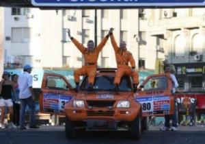 Есть результат: Украинская команда впервые в истории финиширует на Дакаре