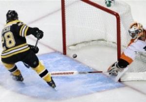 NHL: Бостон обырал Филадельфию, Ванкувер уступил Рейнджерс