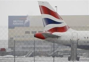 British Airways оценивает ущерб от снегопада в 50 млн фунтов