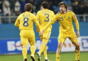 Определились соперники сборной Украины в 2011 году
