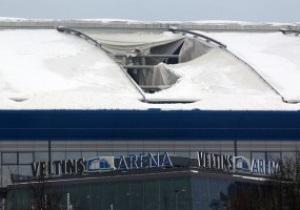 Обвалившаяся крыша Фелтинс Арены будет вскоре отремонтирована