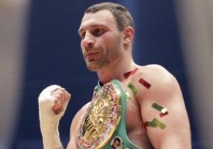Виталий Кличко признан боксером года в Германии