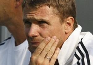 Ребров заменит Лужного в тренерском штабе Динамо