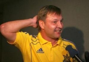 Тренер сборной Украины по футболу сыграет за команду ветеранов волгоградского Ротора