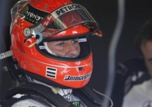 Шумахер: Доволен решением вернуться в Формулу-1