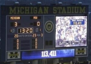 В США установлен новый рекорд посещаемости хоккейного матча