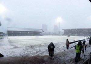В Шотландии из-за непогоды снова отменяют футбольные матчи