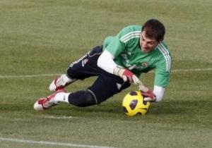 Касильяс вошел в десятку самых успешных футболистов Примеры