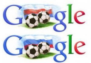 Google перепутал цвета триколора, поздравляя Россию с ЧМ-2018