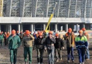 Добастовались. На строительстве стадиона во Львове начались увольнения