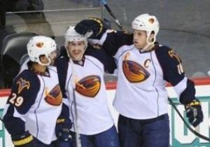 NHL: Атланта одержала шестую победу подряд