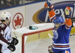 NHL: Эдмонтон на последней минуте матча вырвал победу у Колорадо