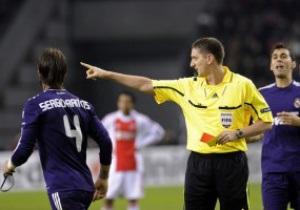 Игрок Реала не опасается санкций UEFA за поведение в матче с Аяксом
