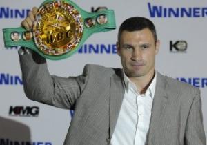 Виталий Кличко: В следующем году, думаю, проведу три поединка