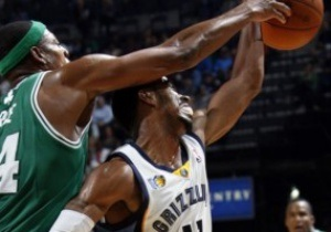 NBA: Бостон в овертайме переиграл Мемфис