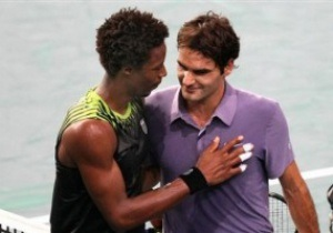 Париж ATP: Монфис не пускает Федерера в финал