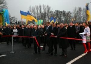 Евро-2012: в Харькове открыли объездную дорогу