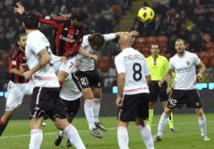 Серия А: Милан переиграл Палермо, Интер и Ювентус теряют очки
