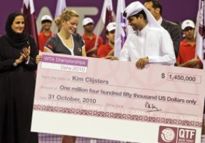 Клийстерс выиграла Итоговый Чемпионат WTA в Дохе