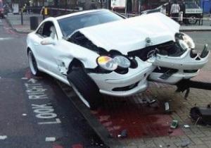 Хэй попал в аварию