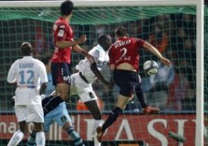 Лига 1: Марсель побеждает Лилль, Бордо и Лион оступаются против новичков