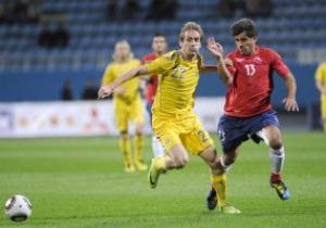 Украина потеряла сразу девять позиций в рейтинге FIFA