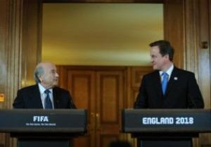 Блаттер: Англія може прийняти Мундіаль уже завтра