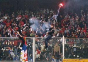 Итальянцы уверены, что сербам присудят техническое поражение за поведение фанатов