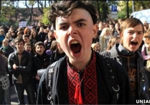 Студенти провели страйк у 15 містах