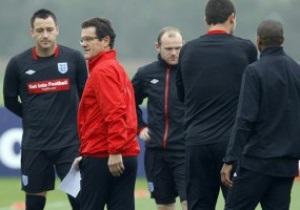 Евро-2012: Англия не смогла пробить Черногорию
