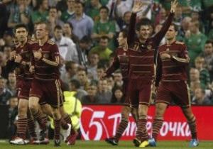 Евро-2012. Россия минимально побеждает Македонию, Словакия и Ирландия расходятся миром